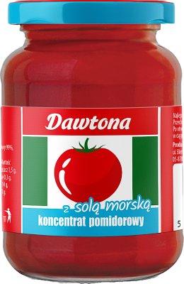 Dawtona koncentrat pomidorowy  z solą morską