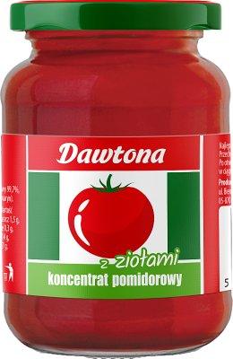 Dawtona koncentrat pomidorowy  z ziołami