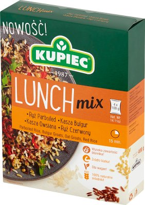 Merchant Lunch Mix parboiled rice, bulgur, red rice, oatmeal 4 x 100 g