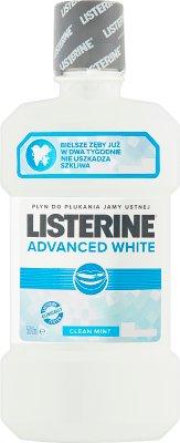Listerine Advanced White  Wielofunkcyjny płyn do płukania jamy ustnej
