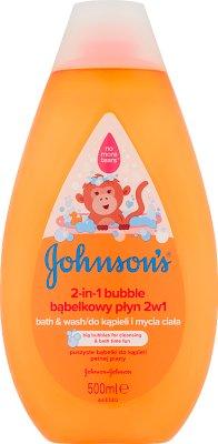 Johnson's Bąbelkowy płyn do kąpieli i mycia ciała 2w1
