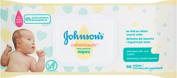 Johnson`s Cottontouch Extra  Sensitive Wipes chusteczki nawilżane