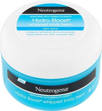 Neutrogena Hydro Boost Velvety body mousse for dry skin