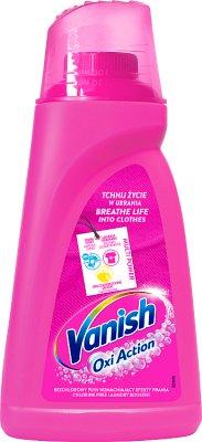 Vanish Oxi Action Odplamiacz  do tkanin w płynie