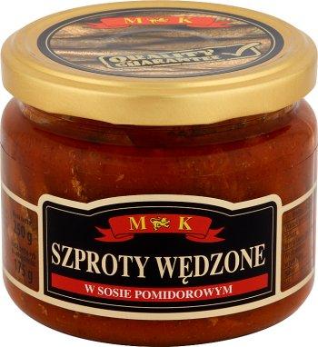 MK Szproty wędzone w sosie  pomidorowym