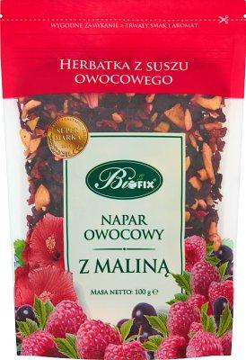 Bifix Napar owocowy z maliną  Herbatka z suszu owocowego
