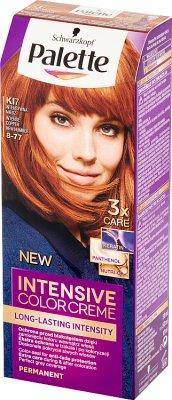 Палитра Intensive Color Creme Интенсивная медная краска для волос KI7