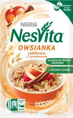 Nestle NesVita Owsianka jabłkowa z cynamonem