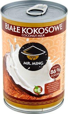 Mr. Ming Białe kokosowe mleczko 86% kokosa