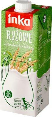 Inka Napój ryżowy z wapniem  bez laktozy