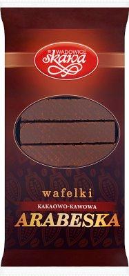Skawa Wafelki kakaowo-kawowa  Arabeska