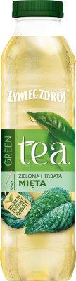 Żywiec Zdrój Black Tea Non-carbonated drink green mint tea