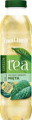 Żywiec Zdrój Black Tea Napój  niegazowany zielona herbata mięta