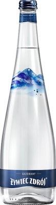 Żywiec Zdrój Woda gazowana szklana butelka