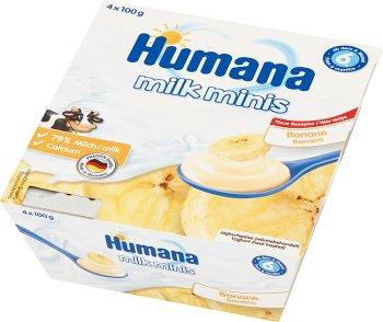 Humana milk minis deserek jogurtowy o smaku bananowym