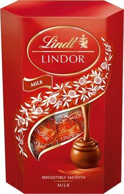 Lindt Lindor Milk Pralinki z czekolady mlecznej z nadzieniem