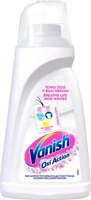 Vanish Oxi Action Odplamiacz  do białych tkanin w płynie