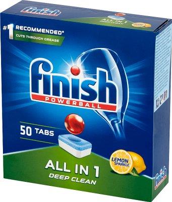 Finish All in 1 Lemon Tabletki  do mycia naczyń w zmywarce