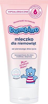 Bambino Hipoalergiczne mleczko  dla niemowląt bezzapachowe