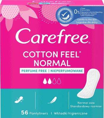 Carefree Cotton Wkładki higieniczne bezzapachowe