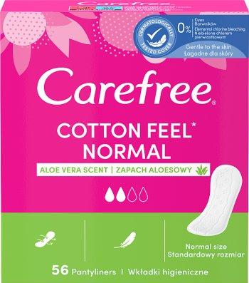 Carefree Cotton Aloe Wkładki  higieniczne