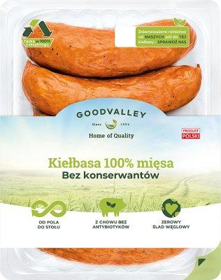 Goodvalley Kiełbasa 100% mięsa bez konserwantów