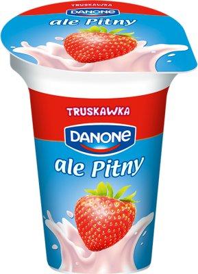 Danone jogurt pitny truskawkowy