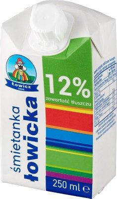 Lowicz cream 12% fat