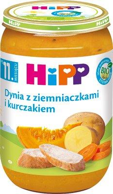 Calabaza Hipp con papas y pollo BIO