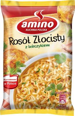 Amino Zupa błyskawiczna rosół  złocisty z lubczykiem