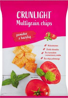 TBM Crunlight chrupki wielozbożowe pomidor z bazylią