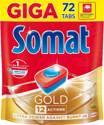 Somat Gold Tabletki do mycia naczyń w zmywarkach