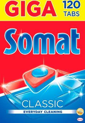 Somat Classic Tabletten zum Geschirr spülen in der Spülmaschine