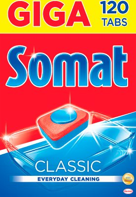 Somat Classic Tabletki do mycia  naczyń w zmywarkach