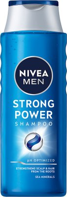 Nivea Men Strong Power Szampon   do włosów