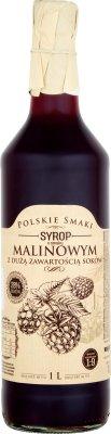 Excellence Polskie Smaki Syrop  o smaku malinowym z dużą zawartością soków