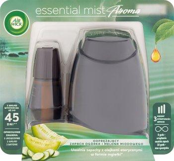 Air Wick Essential Mist  Automatyczny odświeżacz powietrza Odprężający  zapach ogórka i melona miodowego