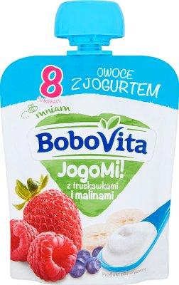 BoboVita JogoMi! Deserek  z truskawkami i malinami
