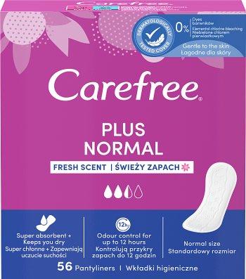 Carefree Plus Original Wkładki  higieniczne świeży zapach