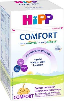 HiPP Comfort Żywność specjalnego przeznaczenia medycznego dla niemowląt od urodzenia 600 g specjalistyczne początkowe