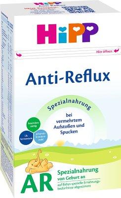 HiPP AR (Anti-Reflux) mleko modyfikowane początkowe, od urodzenia. Produkt specjalistyczny
