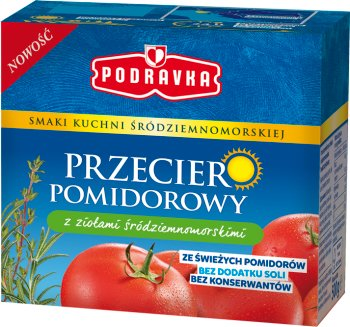 Podravka przecier pomidorowy  z ziołami śródziemnomorskimi