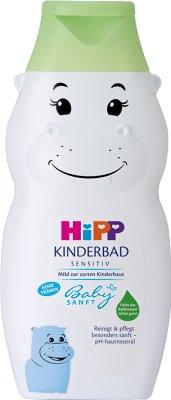 HiPP Babysanft Płyn do kąpieli hipopotam, barwi wodę na zielono