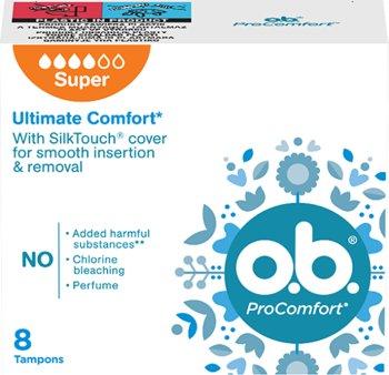 O.B. ProComfort Super Tampony