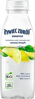 Żywiec Zdrój essence Napój  niegazowany BIO o smaku ogórka i limonki