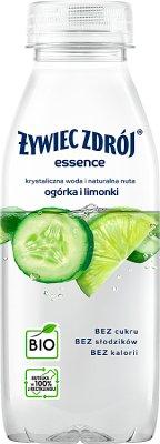 Żywiec Zdrój essence Napój  niegazowany BIO o smaku cytryny i bazylii