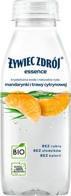 Żywiec Zdrój essence Napój  niegazowany BIO o smaku mandarynki i trawy  cytrynowej