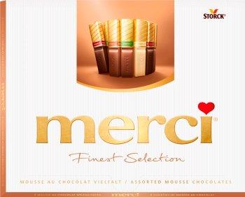 Merci Finest Selection Kolekcja  czekoladek z musem czekoladowym
