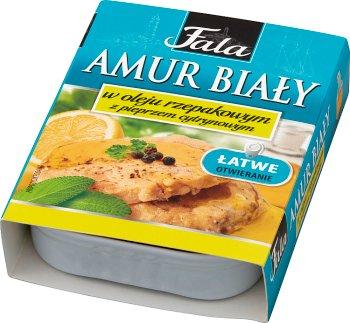 Fala Amur Biały w oleju rzepakowym z pieprzem cytrynowym