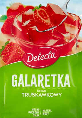 Delecta Galaretka smak truskawkowy